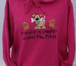 Hooded Top- No Outfit is Complete Without Paw Prints