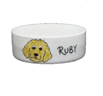 Personalised Small Ceramic Dog Bowl