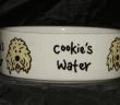 Personalised Small Ceramic Dog Bowl