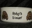 Personalised Large Ceramic Dog Bowl