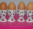 Egg Cup Set from our Hearts & Paws Collection