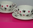 Set of Two Mugs from our Hearts & Paws Collection