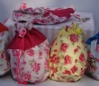 Hand Made Floral Treat Bag