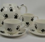 Paw Print Tea Set