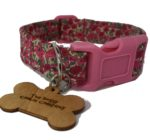 Pink Liberty of London Collar & Lead Set