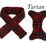 Doggy Scarf & Toy Set Tartan