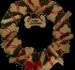 Doggy Christmas Wreath
