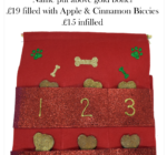 Personalised Red Doggy Advent Calendar