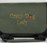 Personalised Large Satchel style Bag