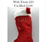 Personalised Doggy Christmas Stocking