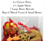 Doggy Christmas Hamper with extra toy