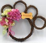 Large Paw Shaped Decorative Wreath